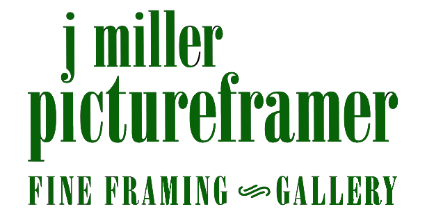 J Miller Pictureframer Mashpee & Cape Cod MA Logo
